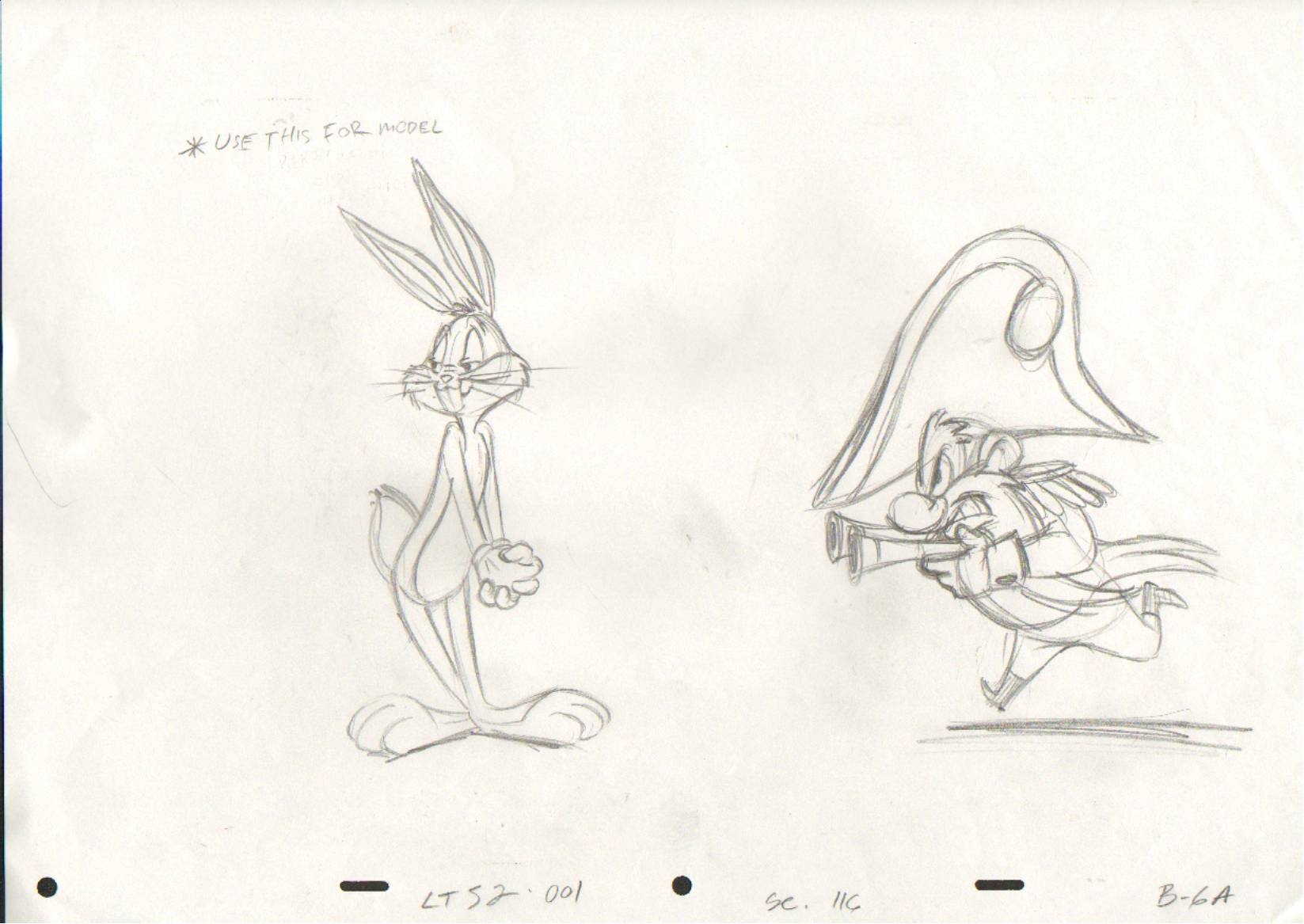 1647x1167 Bugs Bunny Cel Drawing @ Animationvalley.co.uk, In Animation