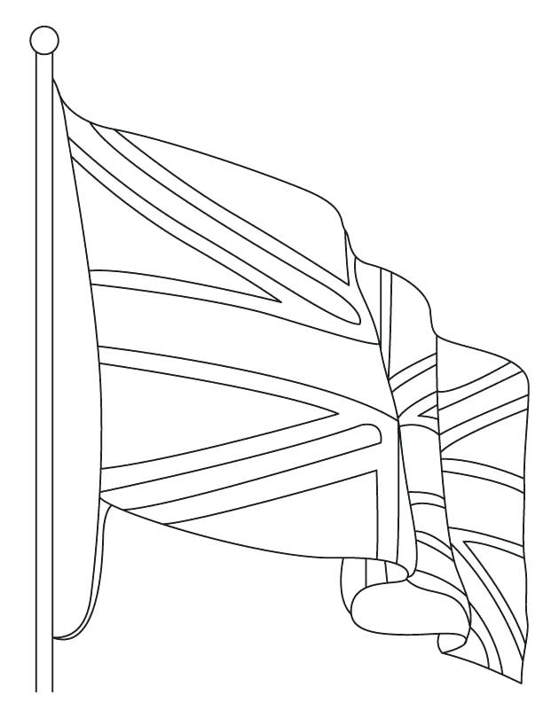 630x810 Great Britain Flag Coloring Page England Flag Coloring Page