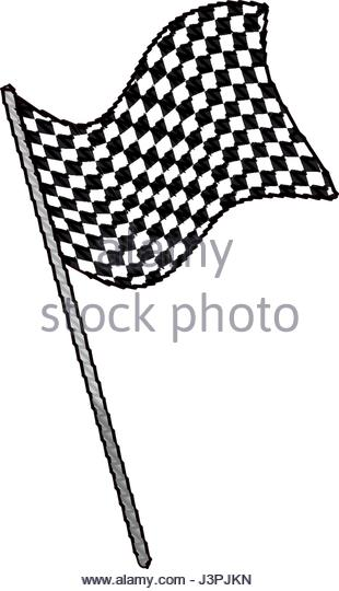 310x540 Drawing Flag Sport Finish Winner Stock Photos Amp Drawing Flag Sport