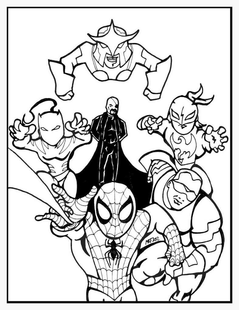 Ultimate Spiderman Drawing At Getdrawings Com Free For Personal