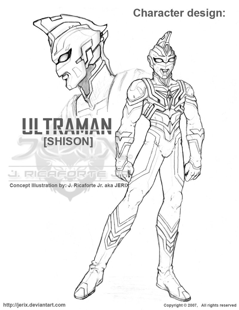 800x1035 ULTRAMAN Shison Concept by jerix on DeviantArt