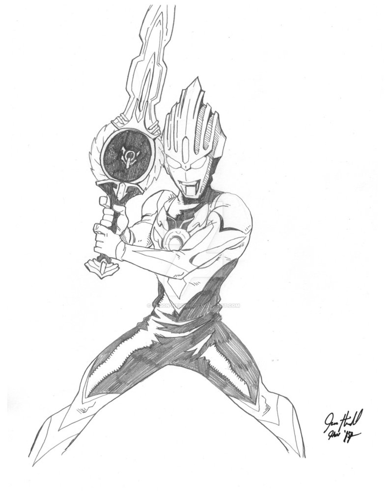 Ultraman Drawing At GetDrawings