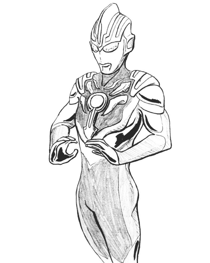 Ultraman Drawing At GetDrawings