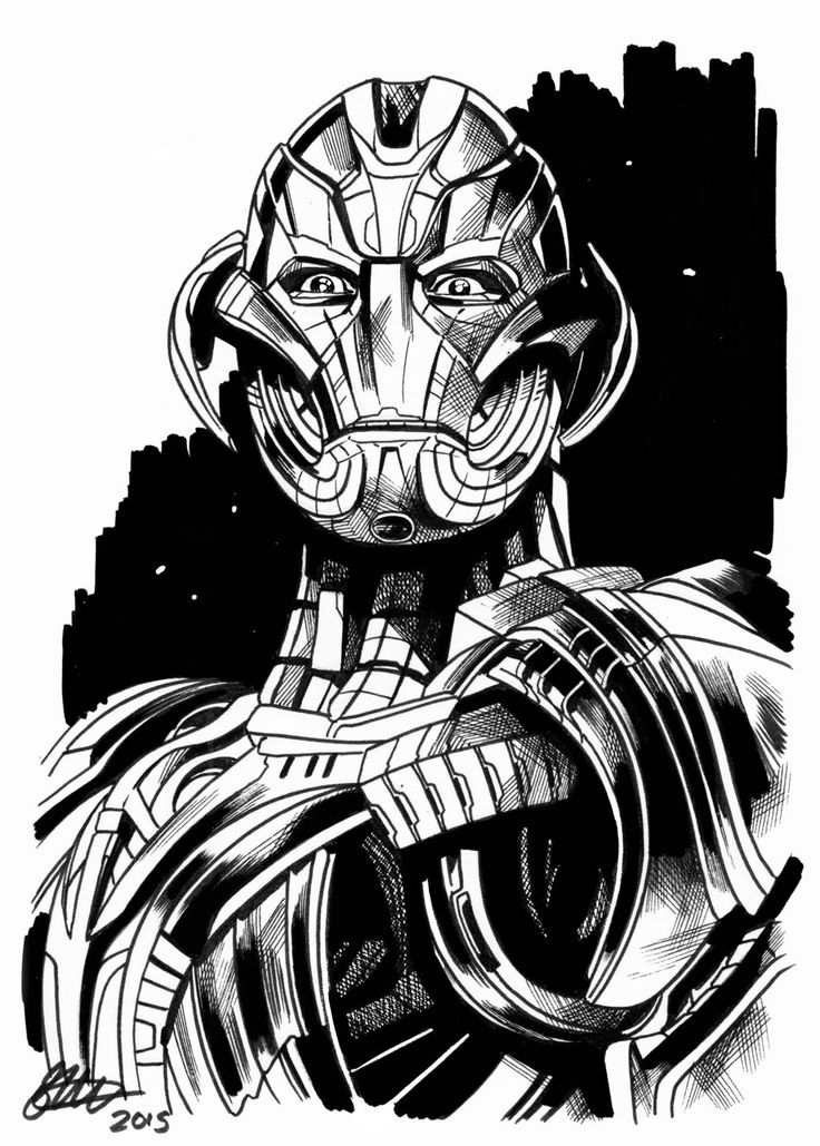 Ultron Drawing