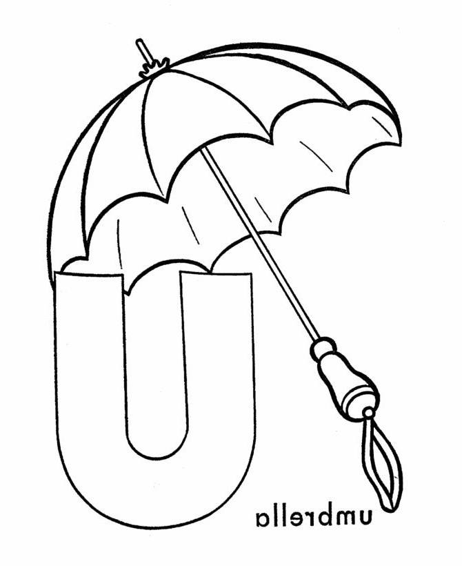 670x820 Beach Umbrella Drawing