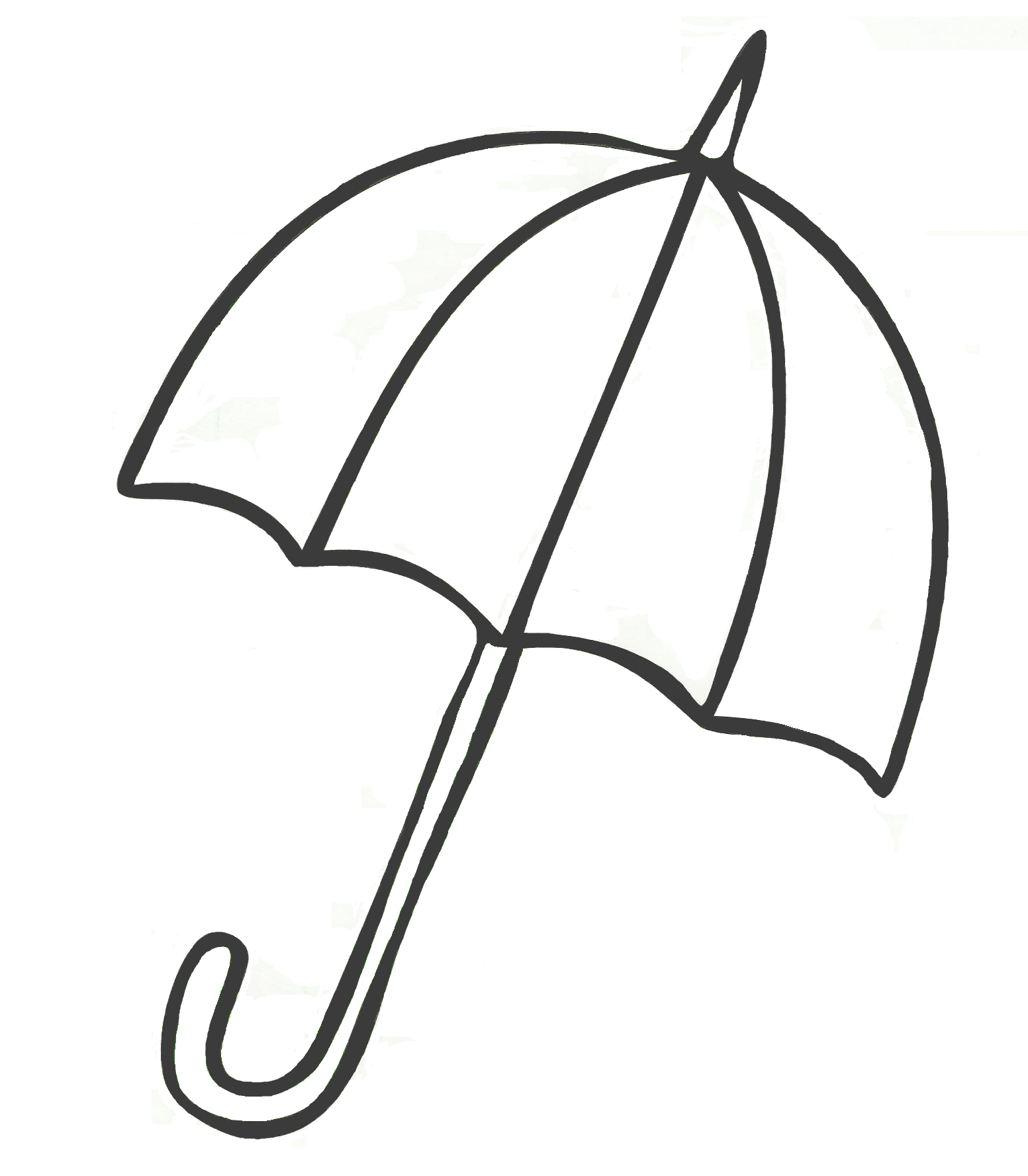 1553x1777 Umbrella Coloring Pages For Kids Printable Drawing Idees Per