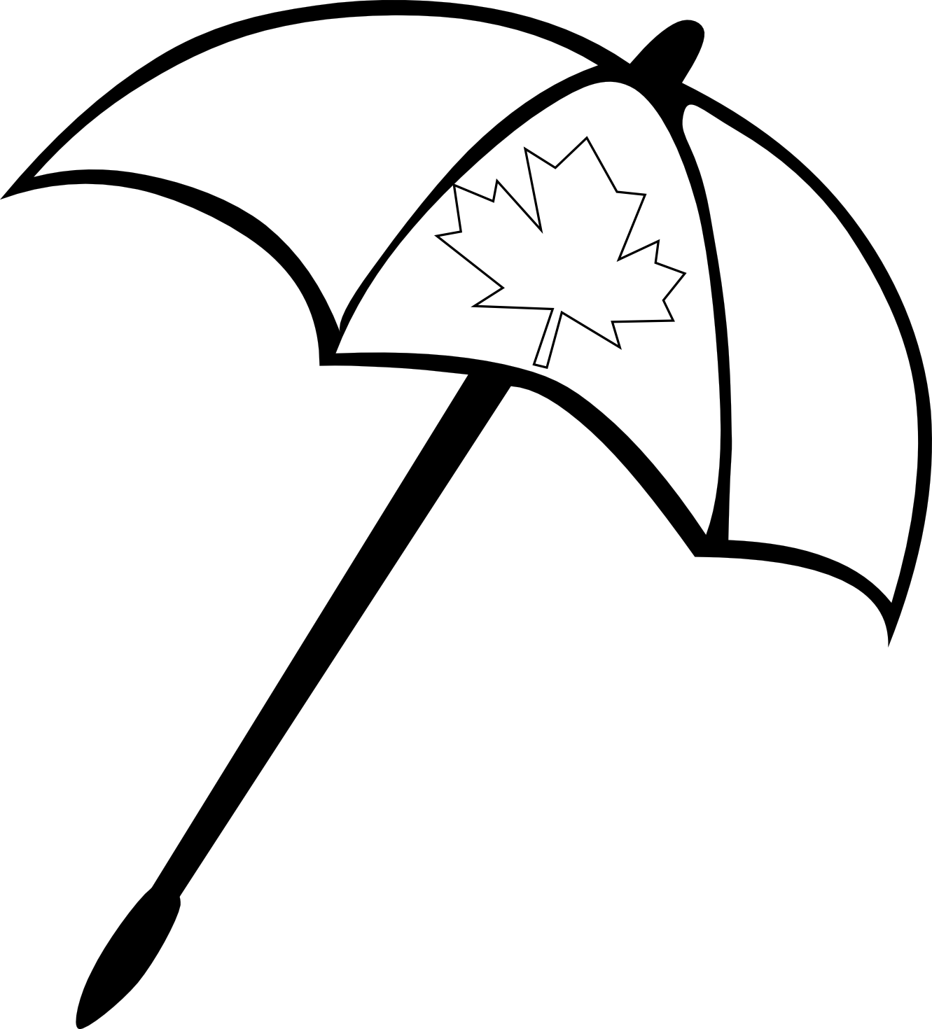 Umbrella Line Drawing at GetDrawings.com | Free for personal use ...