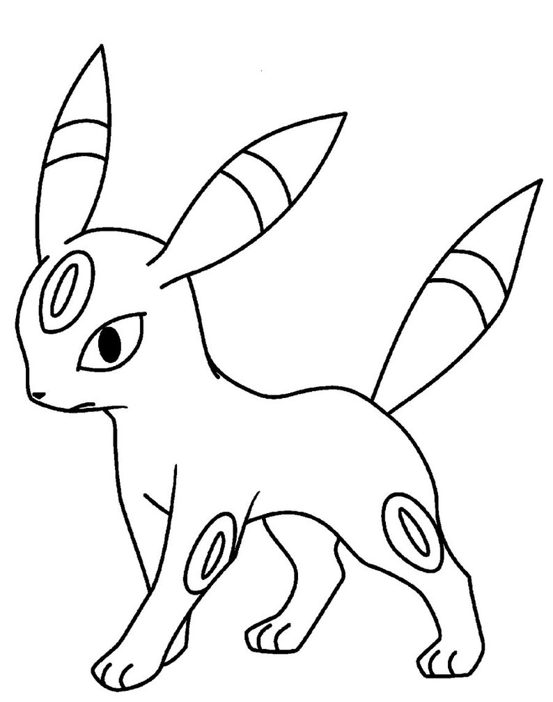 Pokemon Ausmalbilder Nachtara : Umbreon Drawing At Getdrawings Com Free For Personal Use Umbreon