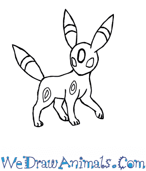 Umbreon Drawing At Getdrawingscom Free For Personal Use Umbreon