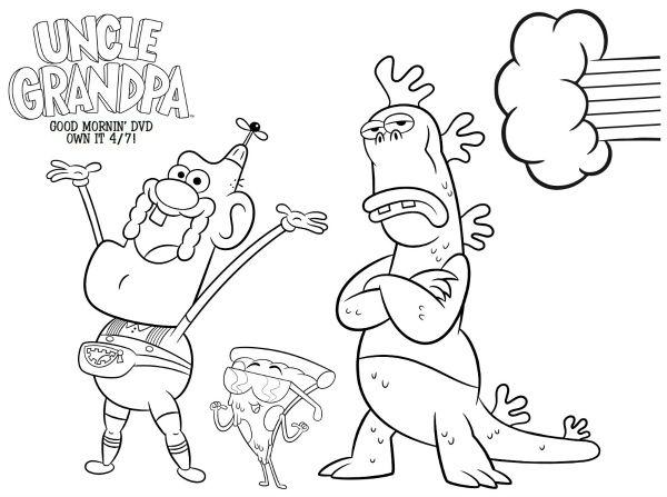 Uncle Grandpa Drawing