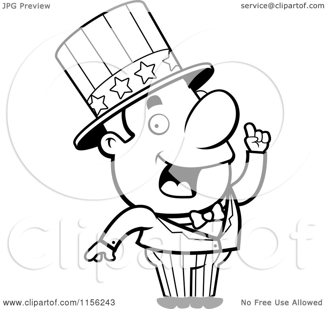 Uncle Sam Drawing