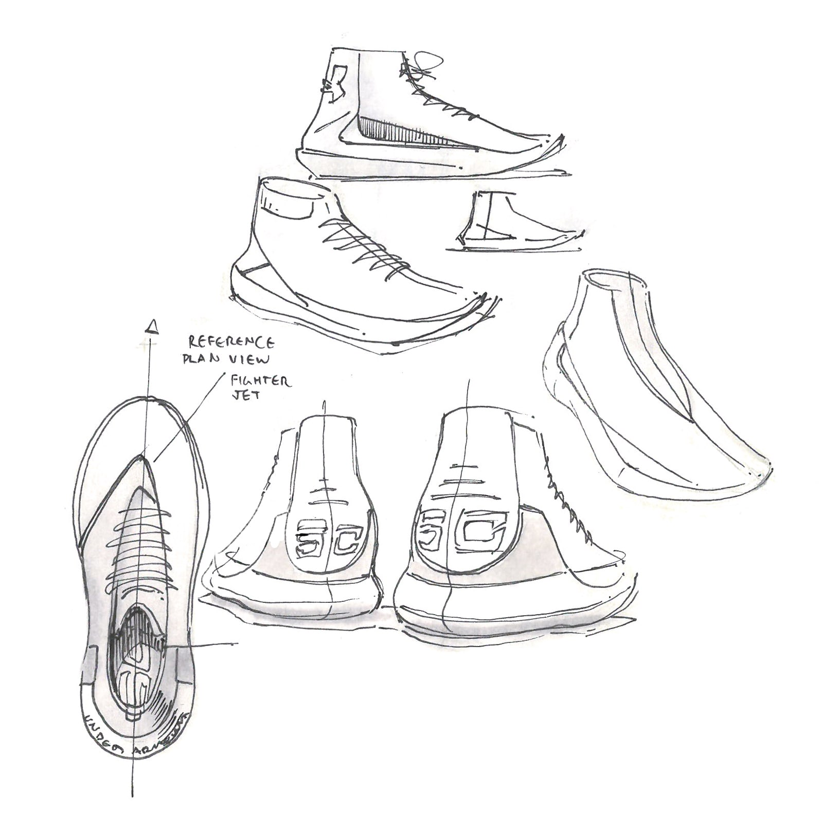 1600x1600 Under Armour Curry 3 Sketches Shoes Design Armours