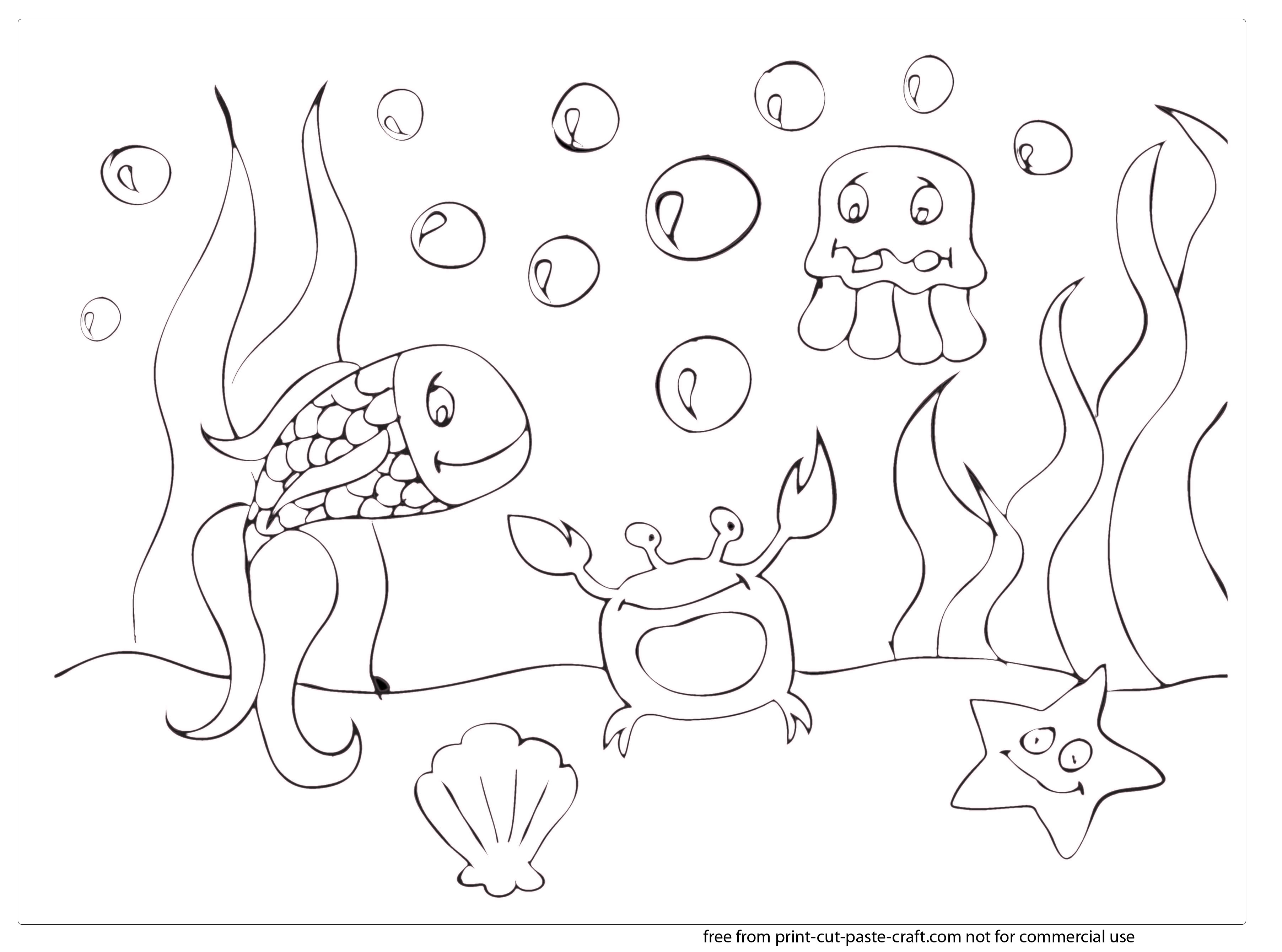 under the sea coloring pages. 3608x2679 Under The Sea Scene Coloring Pages Ocean For Adults Drawing at GetDrawings com  Free for personal use