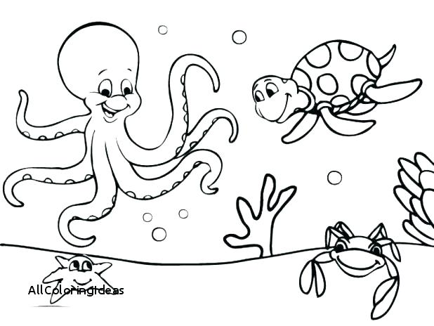 618x464 Deep Sea Creatures Coloring Pages Deep Sea Creatures Coloring
