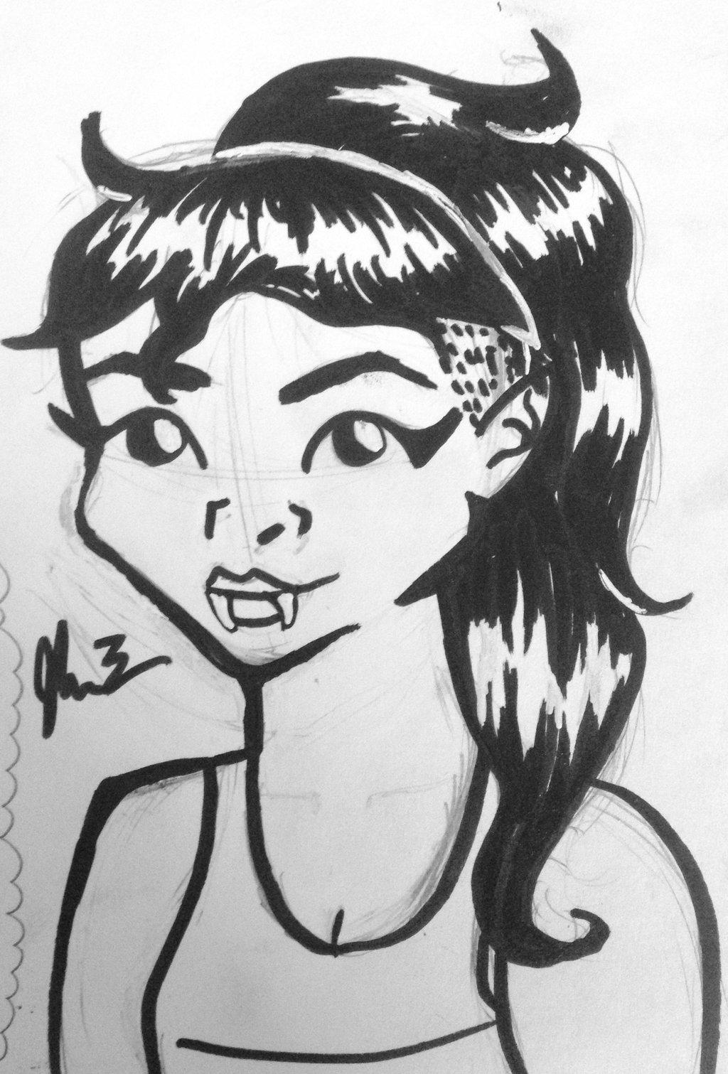 1024x1511 Marceline W Undercut By Magicnikie14