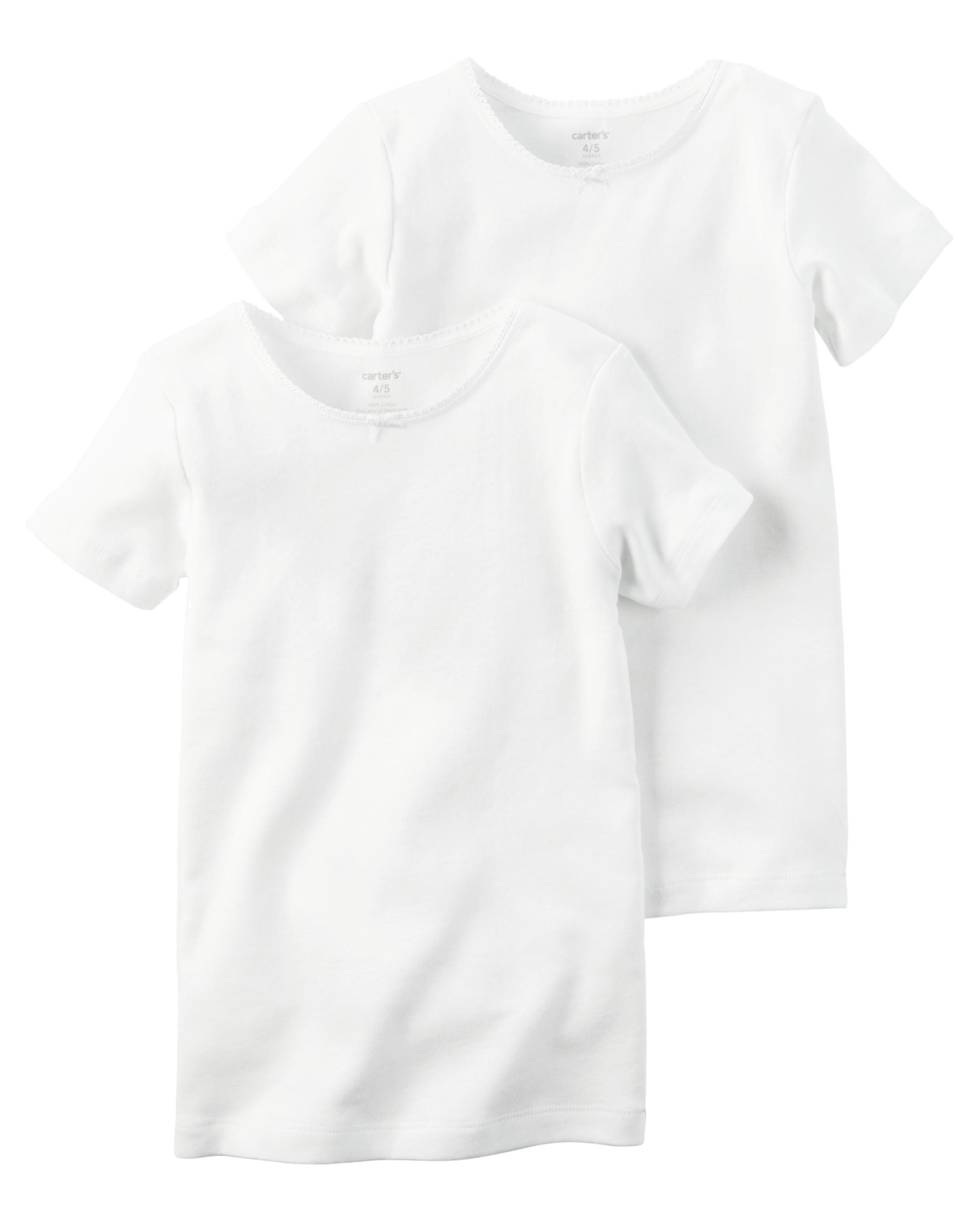 2000x2500 2 Pack Cotton Undershirts