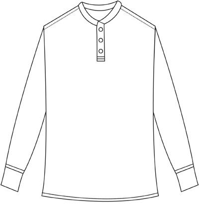 400x419 Henley Shirt Classic Alternative To The T Shirt Stylish Casual