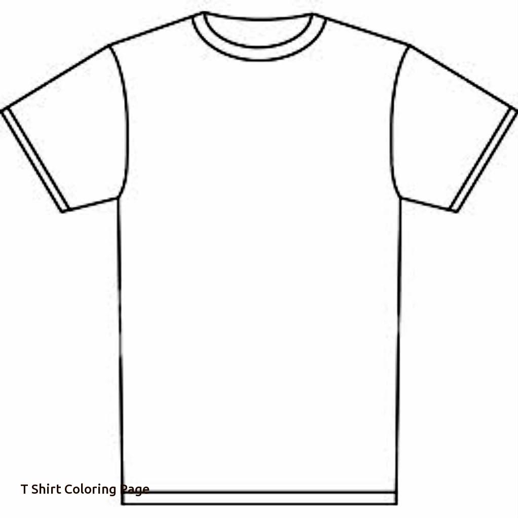 1022x1022 T Shirt Coloring Sheet