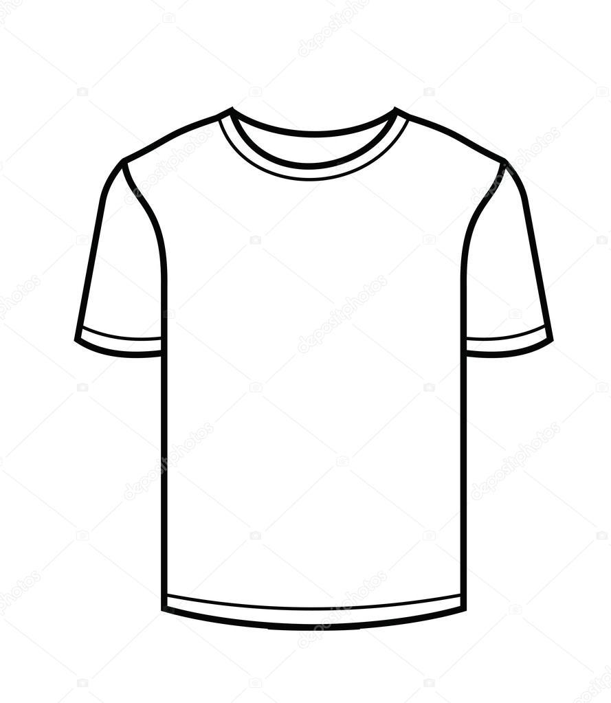 889x1023 Tshirt Icon Stock Vector Bioraven