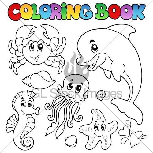 500x500 Sea Animal Drawing For Kids Sea Animals Drawing Ocean Animals