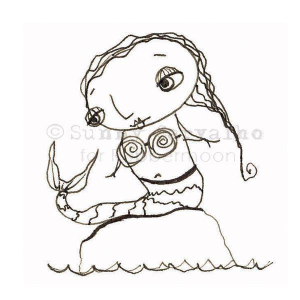 Underwater Cartoon Drawing
