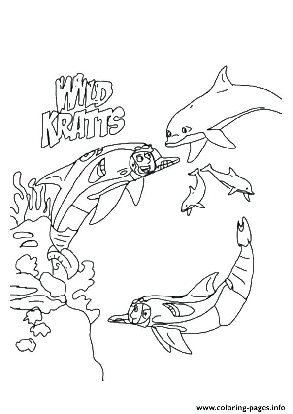 595x842 Complete Underwater Coloring Pages New Wild The In Expedition