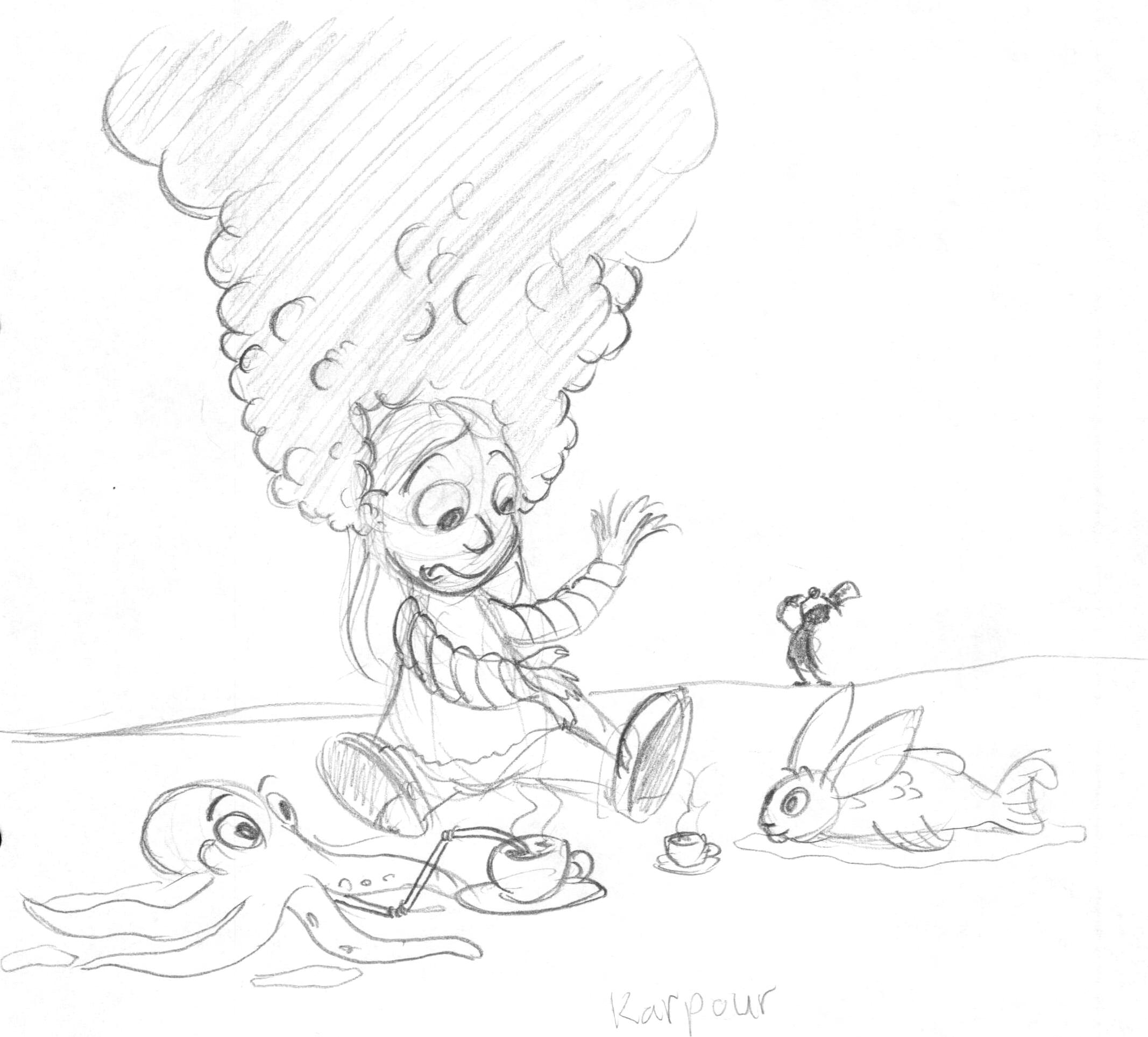 2134x1929 An Underwater Broken Picture Telephone Adventure Ohnitsch Cartoons