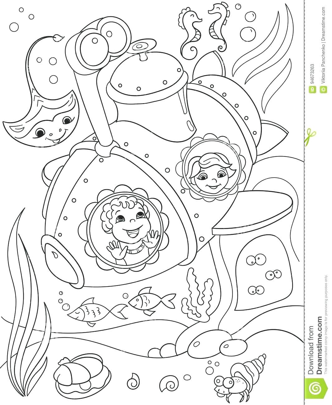 1065x1300 Coloring Submarine Coloring Pages Children Exploring