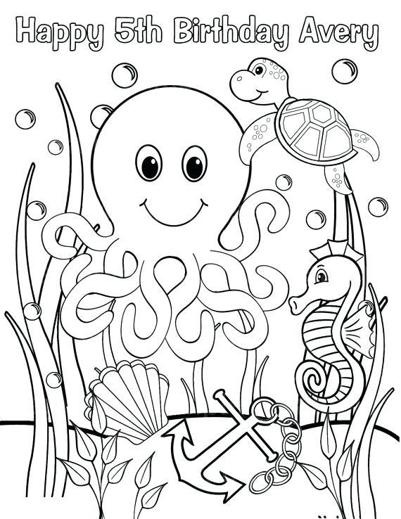 570x738 Ocean Scene Coloring Page Like This Item Underwater Ocean Scene
