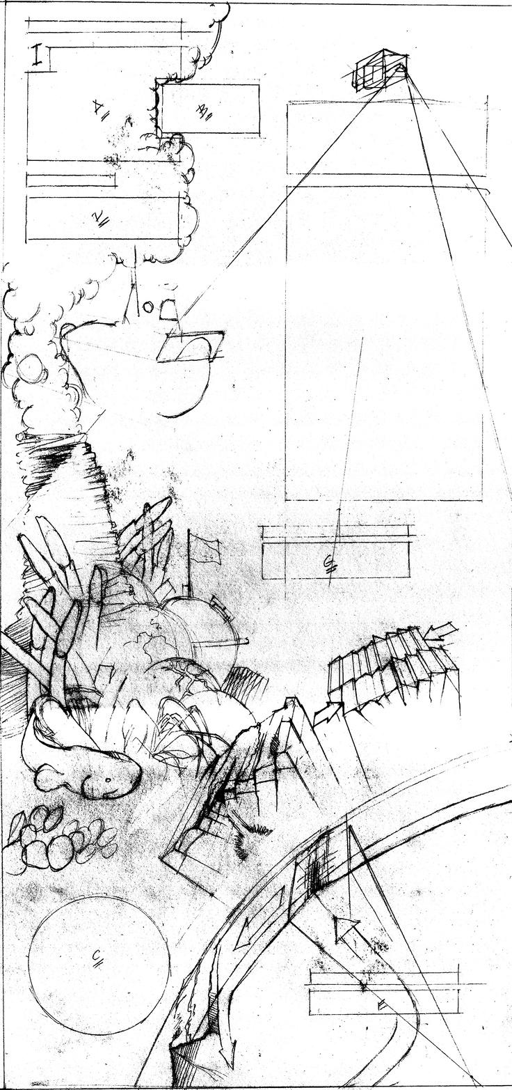 Underwater Pencil Drawing