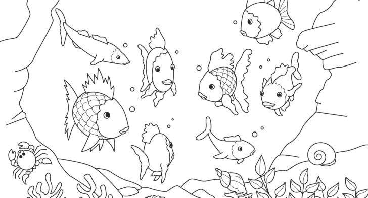728x393 Underwater Scene Coloring Page Fresh Free Ocean Coloring Pages 11