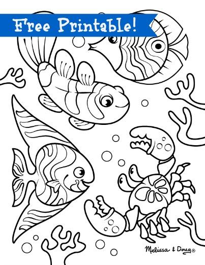 403x522 Underwater Scene Printables. Hors Of Fun With Children Via Melssa