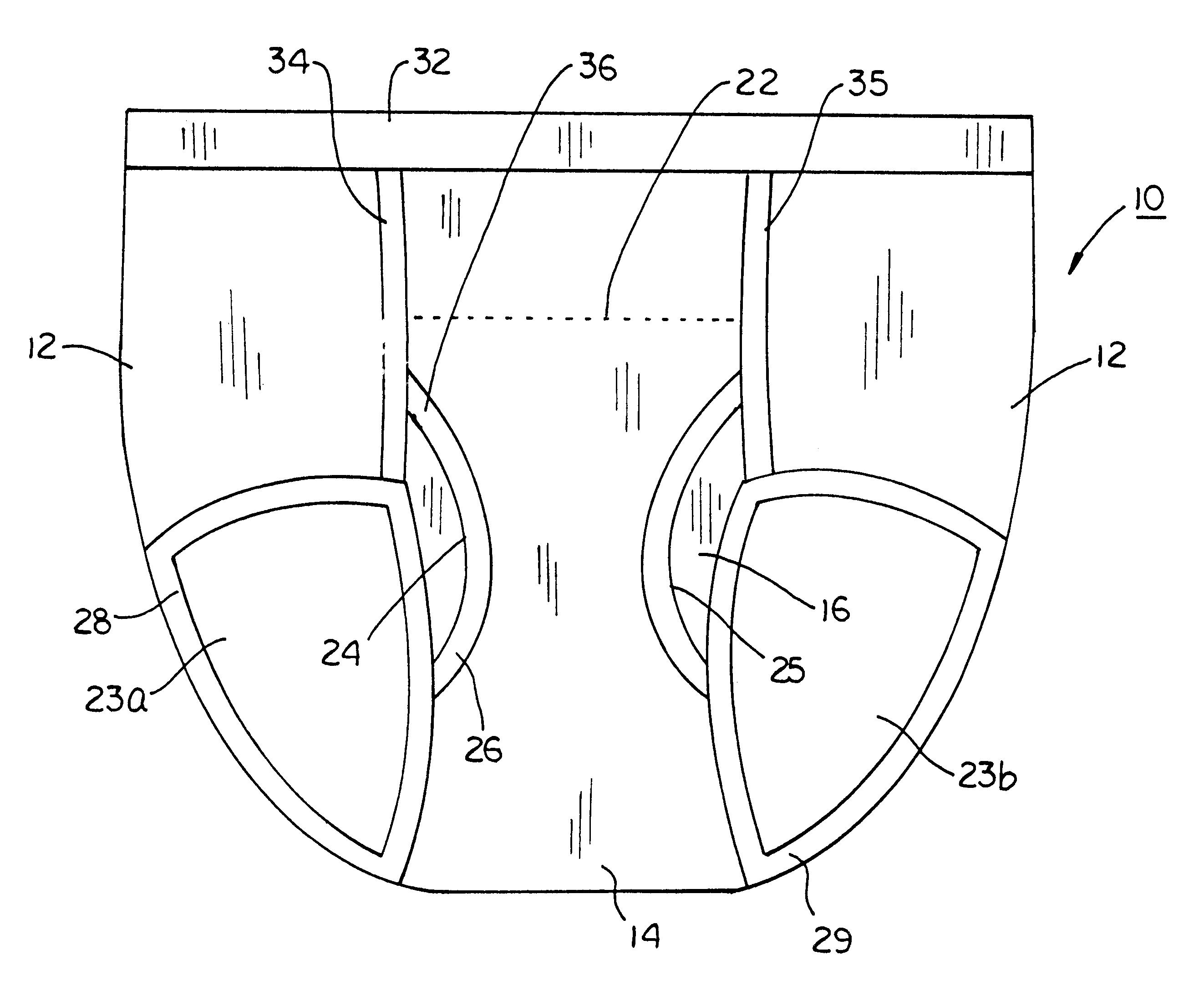 2645x2176 Mens Underwear Illustration