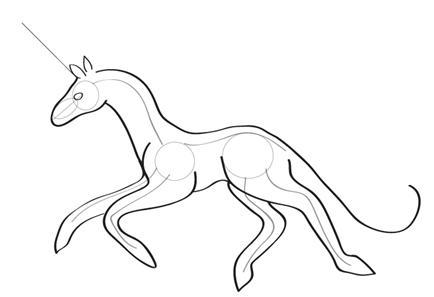 434x297 How To Draw A Unicorn