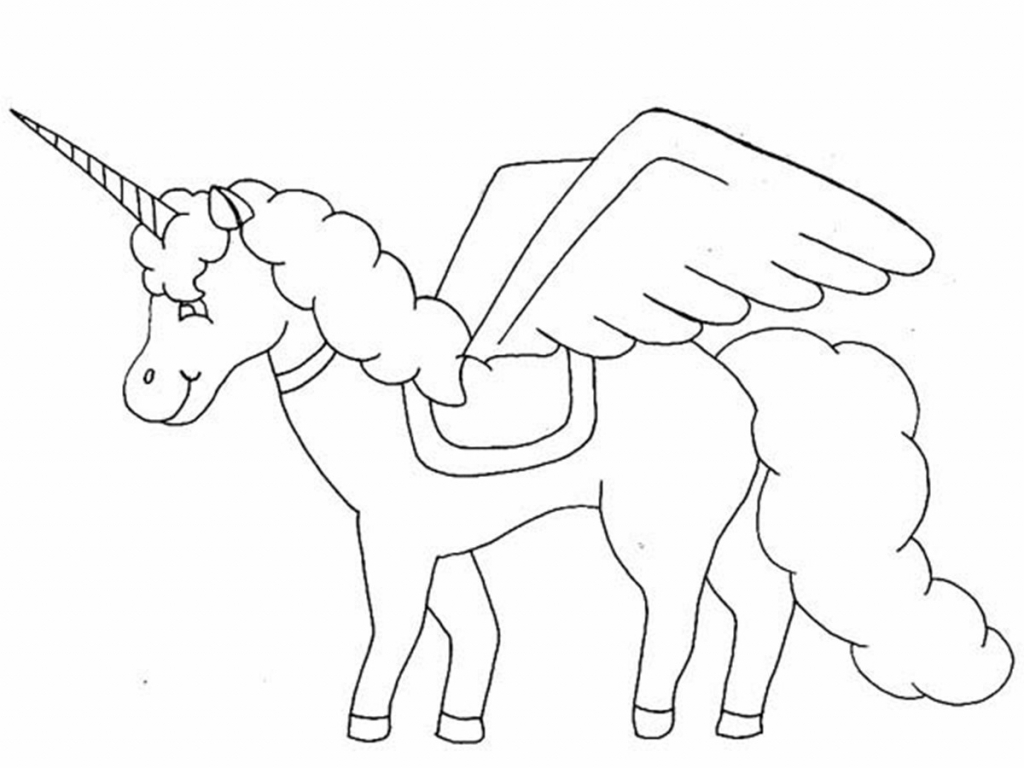 1024x768 Impressive Drawing Of A Unicorn Awesome Ideas For You