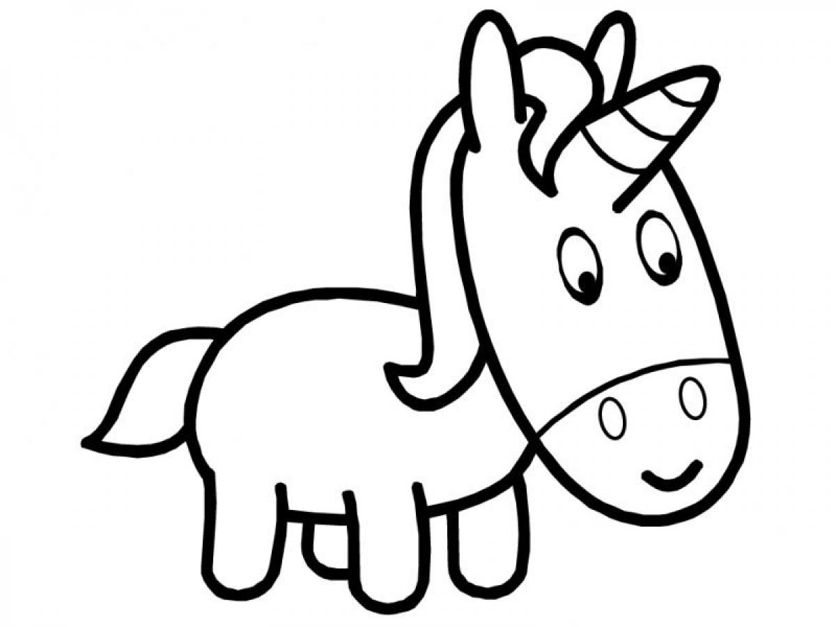 Unicorn Cartoon Drawing At Getdrawings Com Free For Personal Use