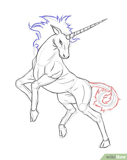 447x559 3 Ways To Draw A Unicorn