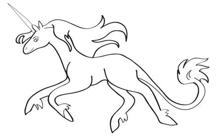 437x277 How To Draw A Unicorn