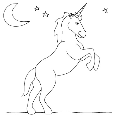 400x400 Want To Learn How To Draw A Unicorn Follow Our Simple Step By