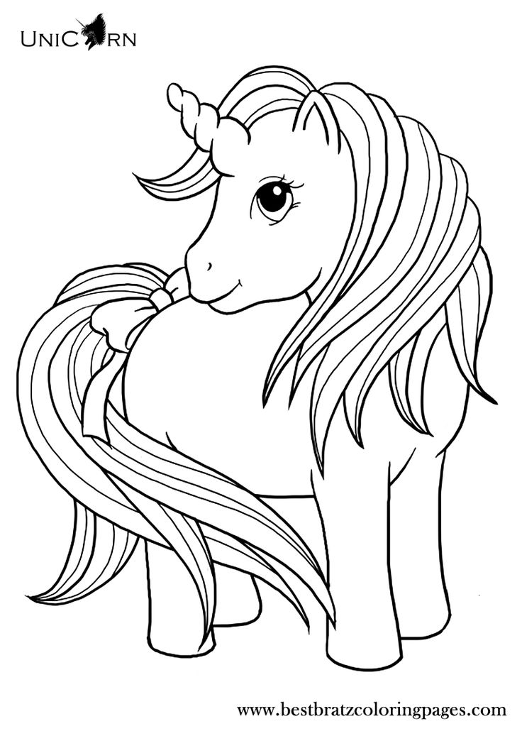 736x1030 Fresh Unicorn Coloring Pages For Kids 25 In Coloring Pages