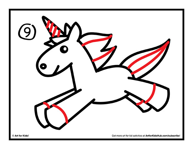 620x479 How To Draw A Unicorn For Kids Unicorns, Doodles And Drawings