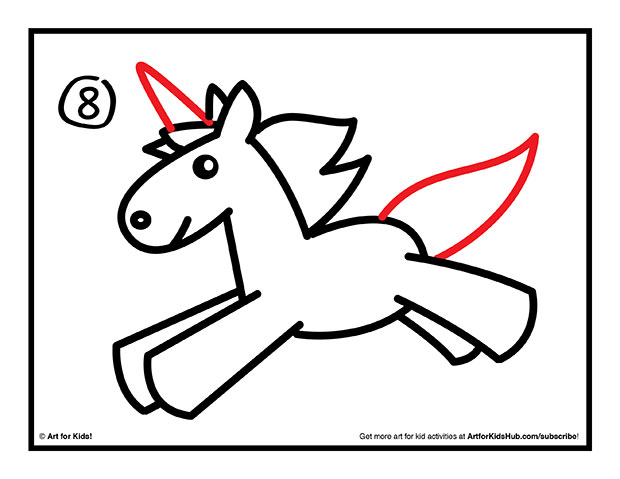 620x479 How To Draw A Unicorn For Kids Unicorns
