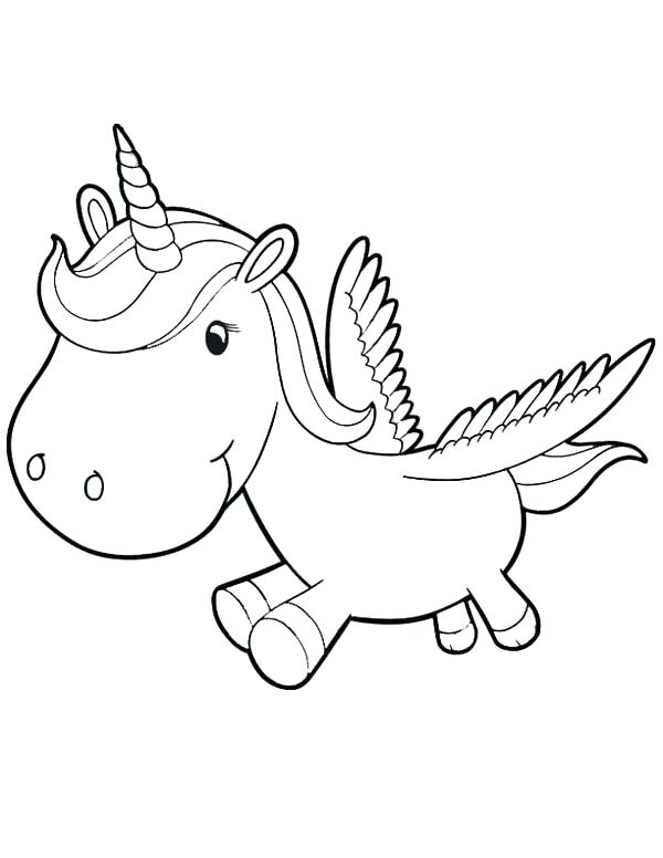 600x776 Best Unicorn Coloring Pages For Kids Kids Coloring Pages
