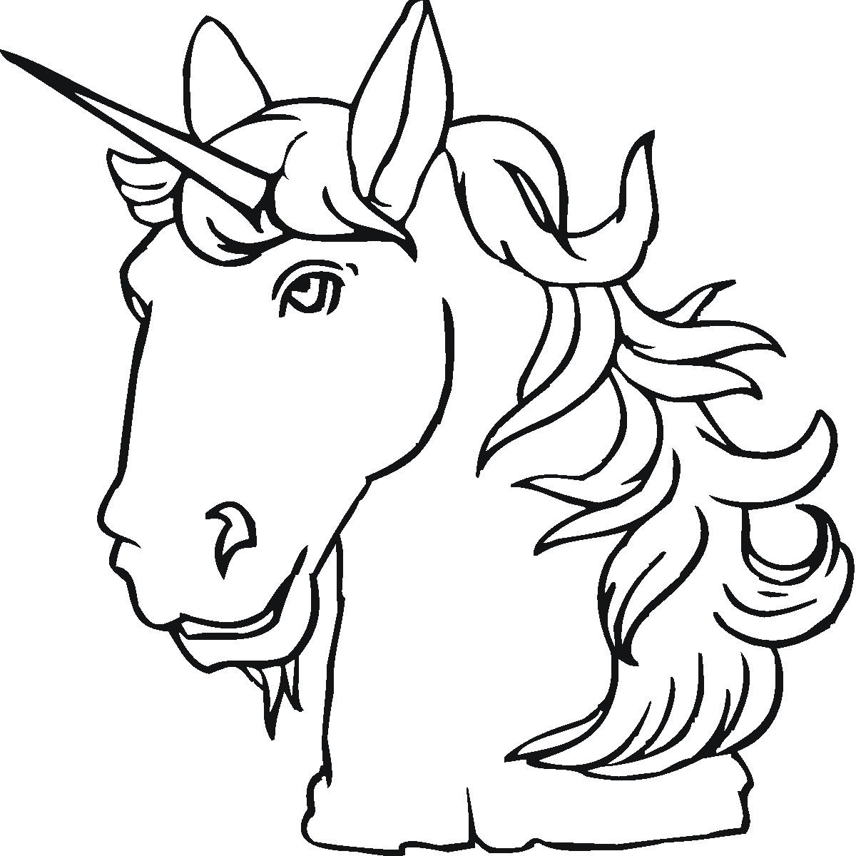 1200x1200 Cool Unicorn Coloring Pictures Book Design