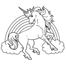 coloring sheets of unicorns