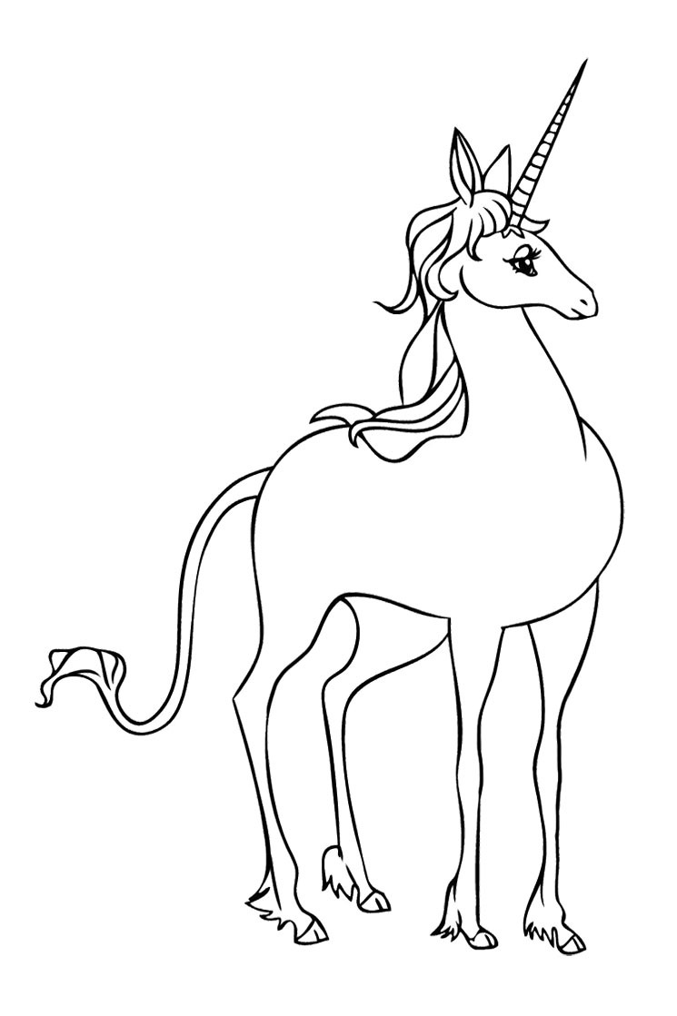 745x1119 Unicorn Coloring Games Coloring Pages Unicorns