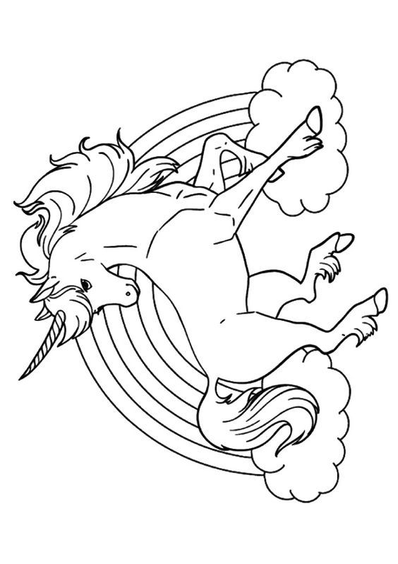 564x798 Print Coloring Image Unicorns, Adult Coloring And Sunday School