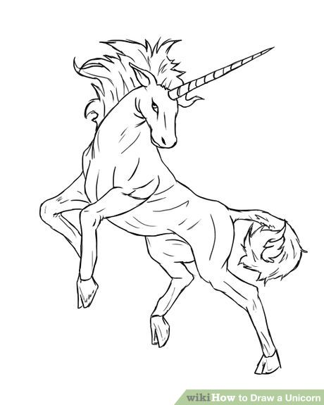 Unicorn Drawing Images