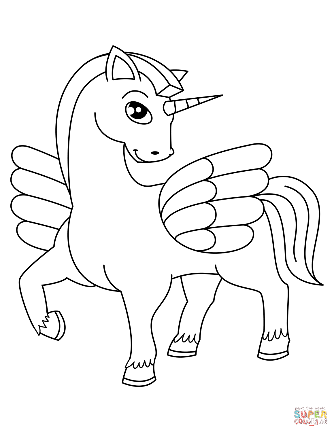 1159x1500 Unicorn Coloring Pages Free Coloring Pages
