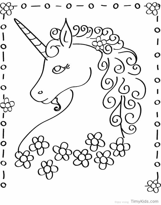 650x830 Unicorn Horn Coloring Page Plus Unicorn Printable Coloring Page